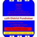 2017 12th District Fund Raiser Comedy Night