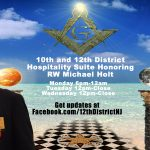10th and 12th District Hospitality Suite Honoring RW Mike Holt