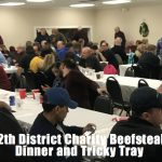 12th Masonic District Annual Charity Beefsteak Dinner 12/28/2018